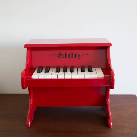 Schylling Red Mini Piano