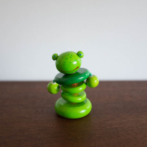Frog Clutching Rattle Toy