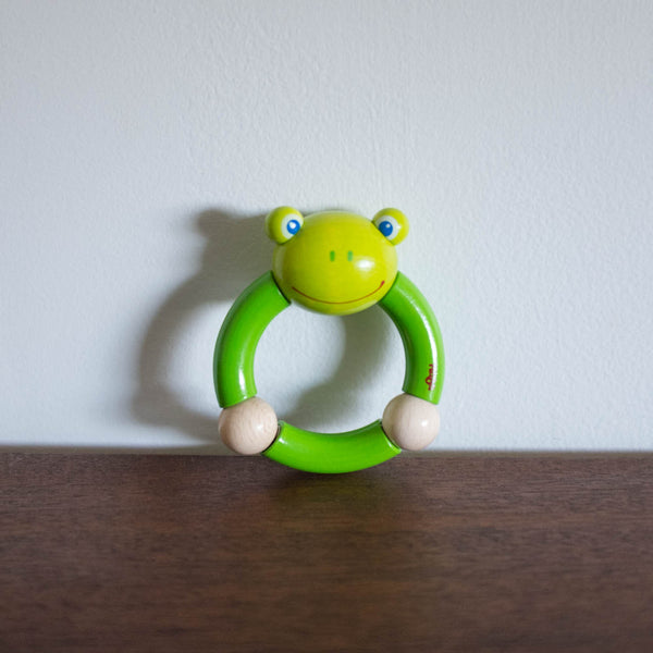 Frog Rattle Toy
