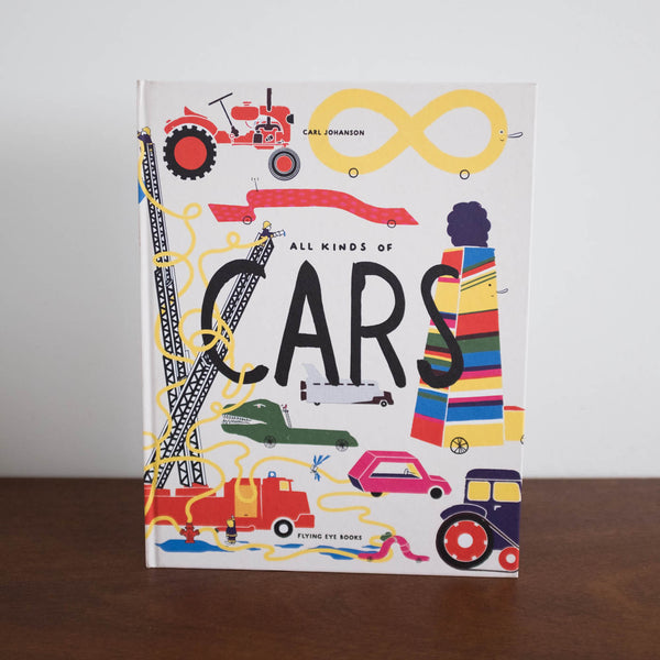 All Kinds of Cars Book