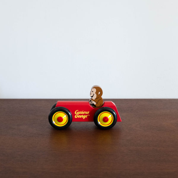 Curious George- Wooden Car