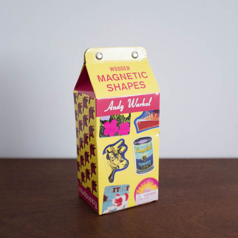 Magnetic Shapes Kit: Andy Warhol Wooden Shapes