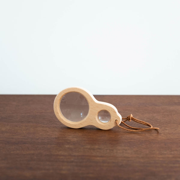 Wooden Dual Magnifier