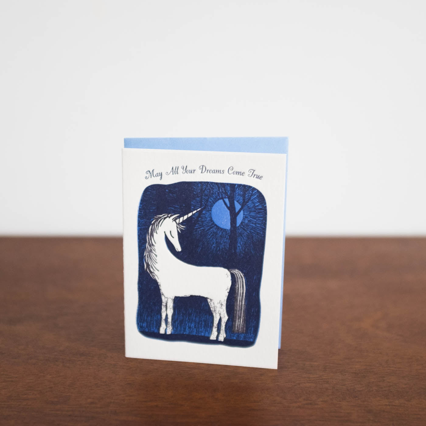 Unicorn May All Your Dreams Come True Card