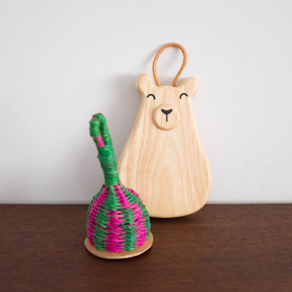 Caxixi Rattan Shaker Rattle Toy