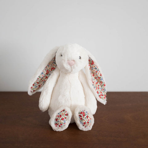 Bashful Floral Bunny- Medium