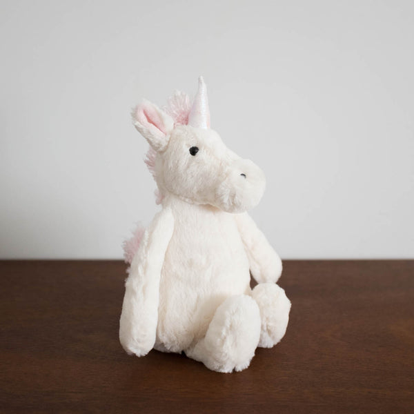Bashful Unicorn Doll- Medium