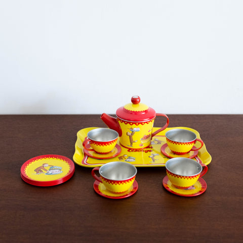 Curious George- Tin Tea Set