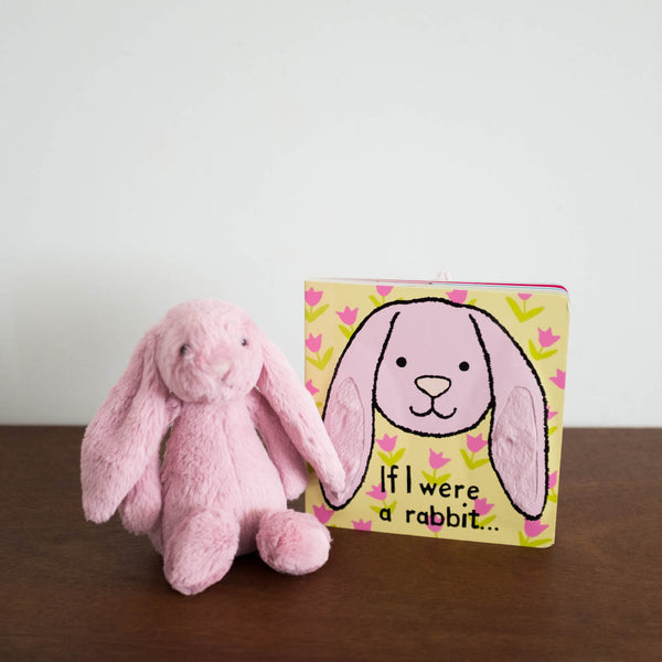 Bashful Tulip Pink Rabbit Book