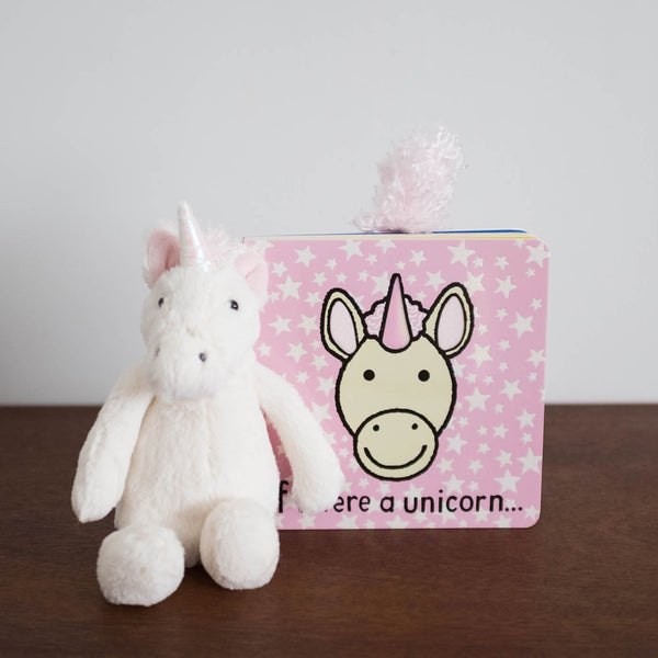 Bashful Unicorn Doll- Small