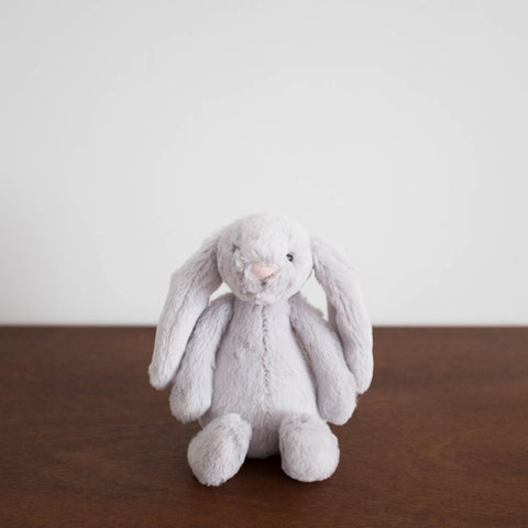 Bashful Grey Bunny- Small