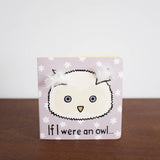Bashful Cream Owl Book