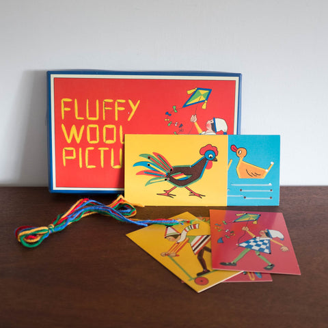 Retro Fluffy Wool Pictures Kit