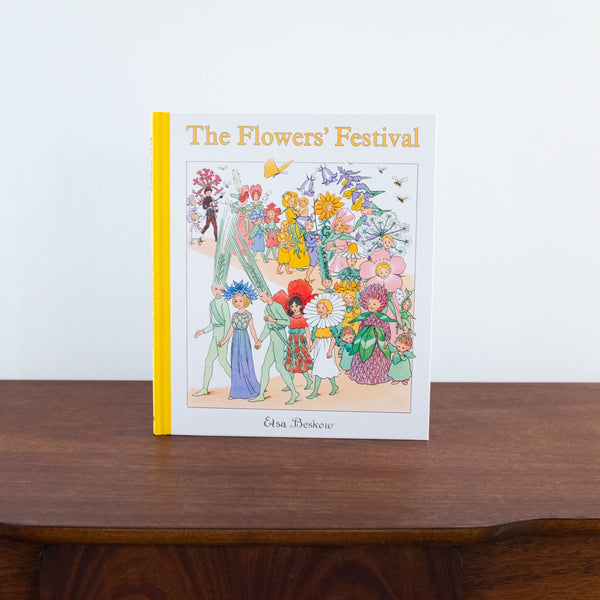 The Flowers Festival Large Book