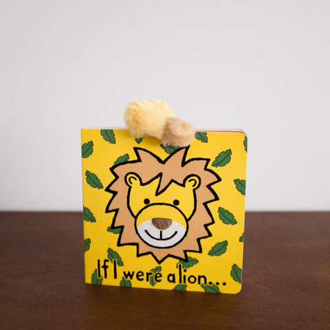 Bashful Lion Book