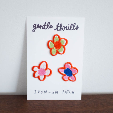 Gentle Thrills Flowers Patches