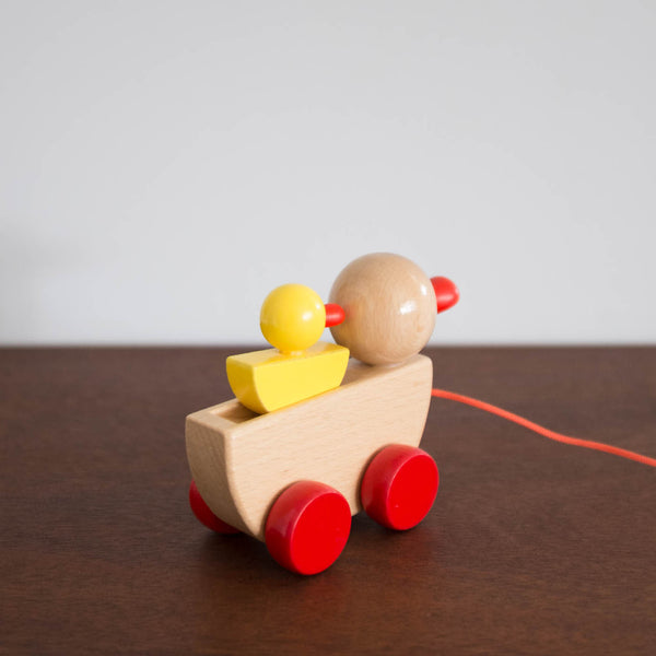 Wooden Ducks Pull Toy
