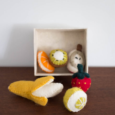 Wool Felt: Fruit Box Set