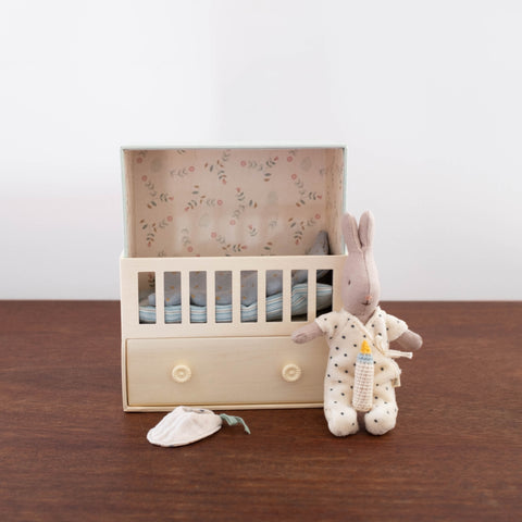 Baby Room Music Box with Bunny- Blue