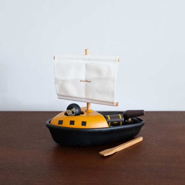 Pirate Boat with Pirate Toy