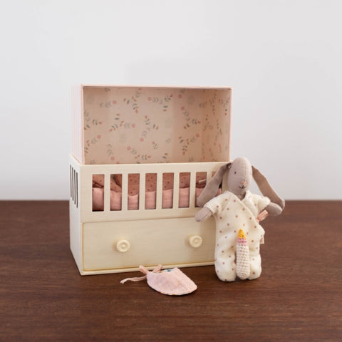 Baby Room Music Box with Rabbit- Pink