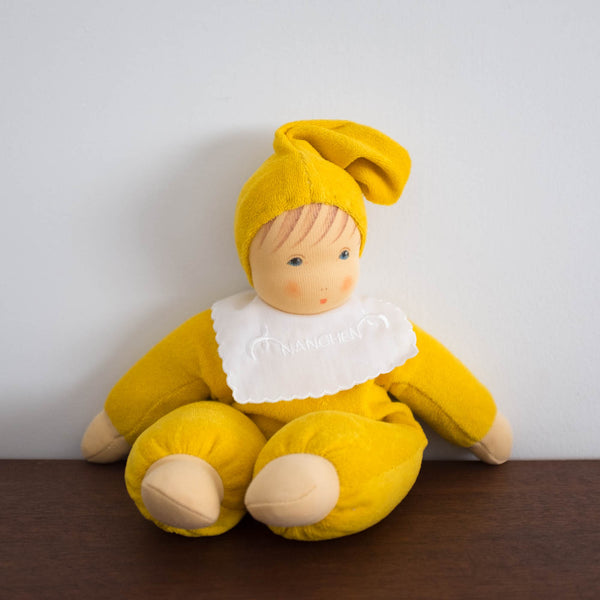 Nanchen Baby Doll-Mustard Yellow