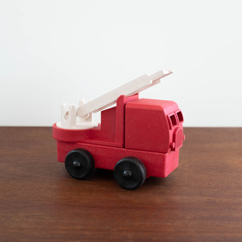 Recycled Wood and Plastic Fire Truck