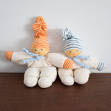 Nanchen Cuddle Doll- Striped Blue