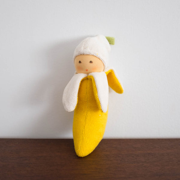 Nanchen Banana Rattle Toy