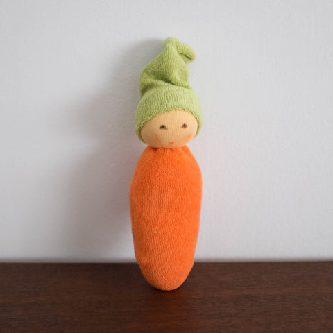 Nanchen Carrot Rattle Toy