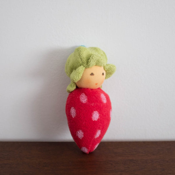 Nanchen Strawberry Rattle Toy