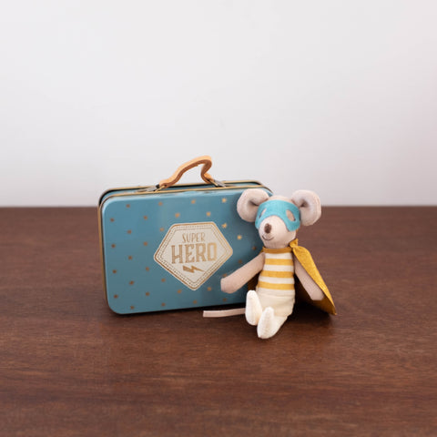 Guardian Hero Mouse in a Suitcase