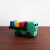 Recycled Wood and Plastic Cargo Truck