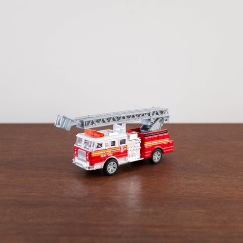 Die Cast Metal Cars: Classic NYC Fire Truck