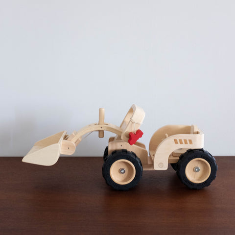 Wooden Bulldozer Toy