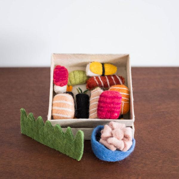 Wool Felt: Bento Sushi Box Set