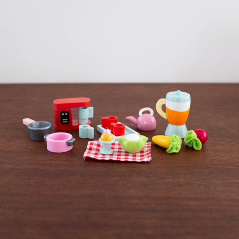 Wooden Doll Accessory Set: Tea- Time
