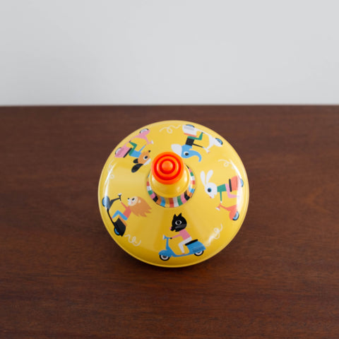 Retro Tin Spinning Tops- #1