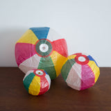 Japanese Paper Balloons: Rainbow Set of 3