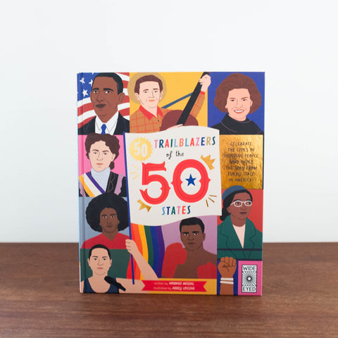 50 Trailblazers of the 50 States Book