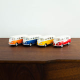Die Cast Metal Pull Back Cars: 1962 VW Classic Bus