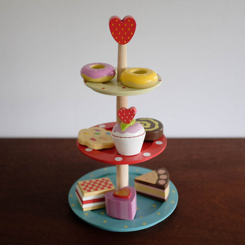 Cake Stand Tower with Pastries Set