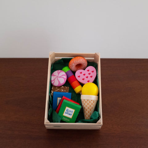 Wooden Assorted Candies Toy Set- Large