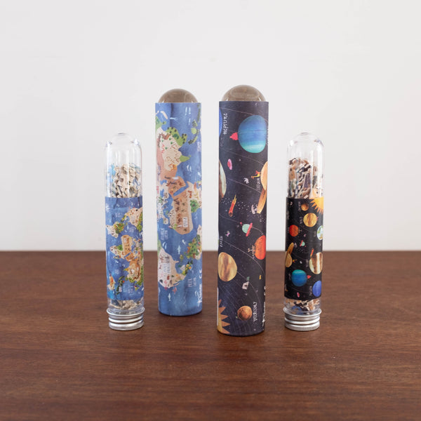 Earth and Planets Puzzle Tube
