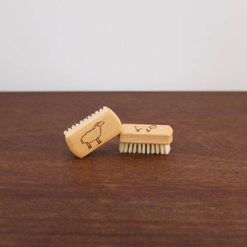 Children's Wooden Nail Brush