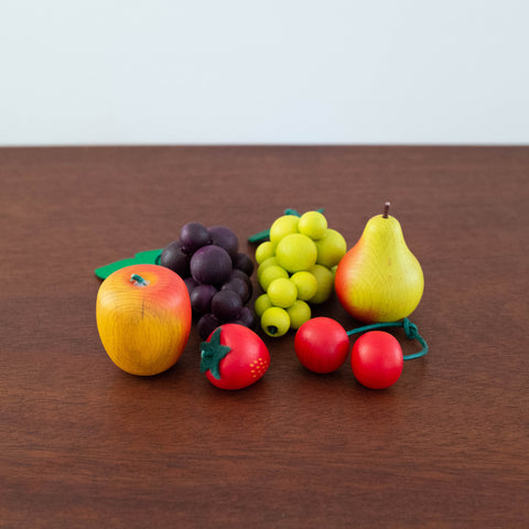Wooden Fruits Assorted