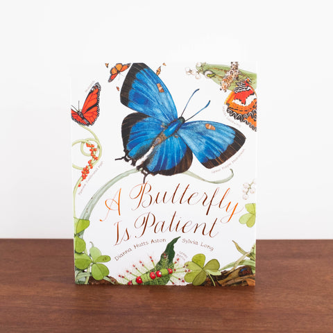 A Butterfly is Patient Book