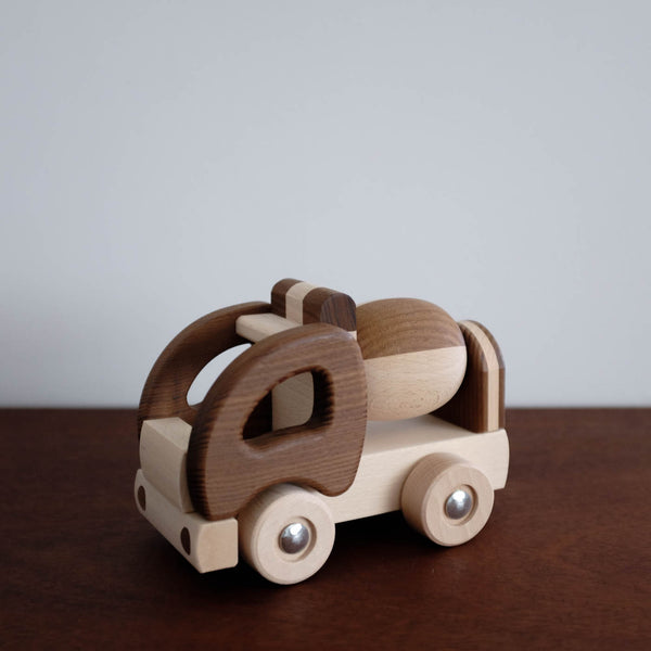 Wooden Cement Mixer Truck