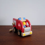 Wooden Fire Engine Truck