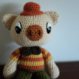 Crochet Knit Pig Doll